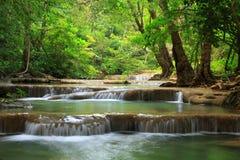 Erawan water fall, Thailand Stock Image