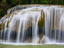 Erawan waterfall.  Stock Image