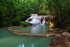 Erawan Waterfall, Royalty Free Stock Photo