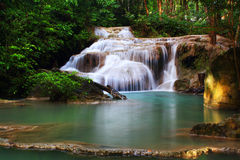 Erawan Waterfall, Royalty Free Stock Photo