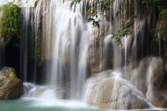 Erawan Waterfall, Royalty Free Stock Images