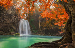Free Erawan Waterfall Stock Photos - 35654483