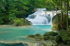 Erawan waterfall Stock Photos