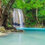 Erawan Waterfall Royalty Free Stock Image
