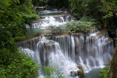 Erawan Waterfall Royalty Free Stock Photo