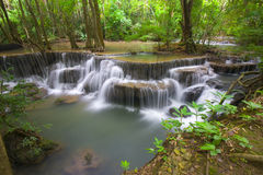 Erawan Waterfall III Royalty Free Stock Photography