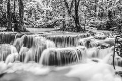 Erawan Waterfall in Kanchanaburi Stock Photos