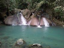 Erawan Waterfall Stock Photography