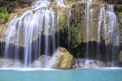 Erawan Waterfall in Kanchanaburi province Royalty Free Stock Photo