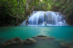 Erawan Waterfall, Kanchanaburi, Thailand. Erawan Waterfall, Kanchanaburi, western of Thailand Royalty Free Stock Photos