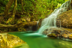 Erawan waterfall. Stock Images