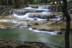 Erawan Waterfall. In Kanchanaburi, Thailand Stock Image