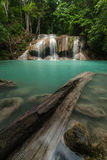 Erawan Waterfall in Kanchanaburi Royalty Free Stock Photo