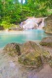 Erawan waterfall, Kanchanaburi. Thailand Asia Royalty Free Stock Photos