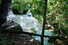 Erawan Waterfall, Kanchanaburi, Thailand Royalty Free Stock Photos
