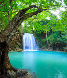 Erawan Waterfall, Kanchanaburi, Thailand Stock Photography