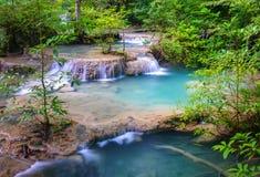 Erawan Waterfall, Kanchanaburi, Thailand Stock Image