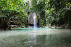 Erawan waterfall Stock Images