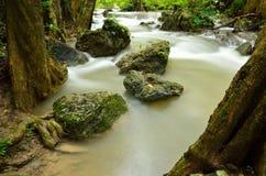 Erawan waterfall. Erawan nation park kanchanaburi thailand Stock Photography