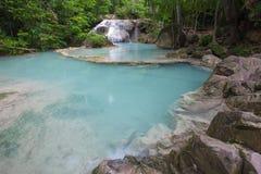 Erawan waterfall National Park Kanjanaburi,Thailand Royalty Free Stock Image
