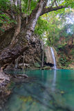 Erawan Waterfall in National Park Stock Images