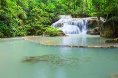 Erawan Waterfall. Scene of Erawan Waterfall at Kanchanaburi ,Thailand Stock Images