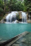 Erawan Waterfall,thailand Royalty Free Stock Image