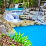 Erawan waterfall, Thailand Stock Photography