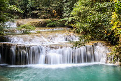 Erawan Waterfall 3 Stock Photography