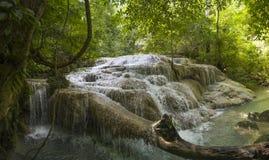Erawan Waterfalls - Thailand. Royalty Free Stock Photography
