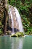 Erawan Waterfalls Thailand fairy atmosphere Stock Photos