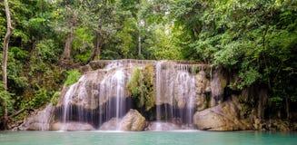 Erawan Waterfalls (Thailand) Royalty Free Stock Photography
