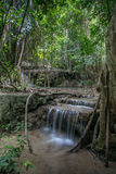 Erawan waterwall Royalty Free Stock Images