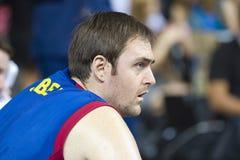 Erazem Lorbek of FC Barcelona Stock Photos