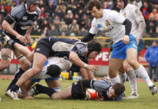ERB Six Nations Rugby - Italy vs Scotland Royalty Free Stock Image