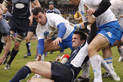 ERB Six Nations Rugby - Italy vs Scotland stock photos