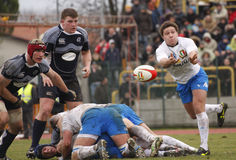 ERB Six Nations Rugby - Italy vs Scotland Stock Photo