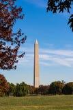 Erba dei giardini di Washington Monument Natural Landscape Constitution Fotografie Stock Libere da Diritti