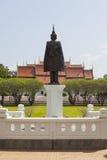 Erba luminosa Wat Phra That Chang Kham del giacimento del cielo, Fotografia Stock