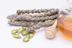 Erba tailandese moonseed foglia del cuore per sano Immagine Stock