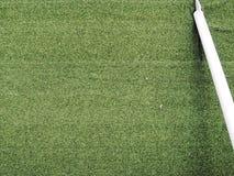 Erba verde di calcio di calcio di golf dell'iarda immagini stock