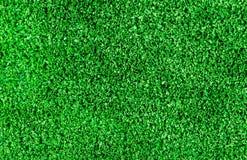 Erba verde di plastica Fotografia Stock Libera da Diritti