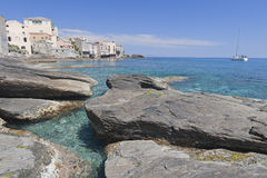 Erbalunga, Corsica Stock Images