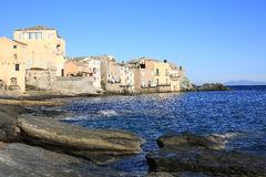 Erbalunga on Corsica Island, France Royalty Free Stock Images