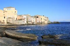 Erbalunga op het Eiland van Corsica, Frankrijk royalty-vrije stock afbeeldingen