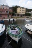 Erbalunga, port, schronienie, wioska rybacka, łodzie, Corsica, nakrętka Corse, Haute Corse, Górny Corse, Francja, Europa, wyspa Fotografia Royalty Free