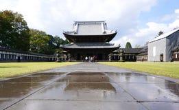 Erbarchitektur von Zuiryuji-Tempel in Takaoka Stockfoto
