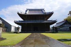 Erbarchitektur von Zuiryuji-Tempel in Takaoka lizenzfreie stockfotografie