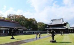 Erbarchitektur von Zuiryuji-Tempel in Takaoka lizenzfreies stockfoto