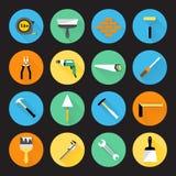 Erbauer Instruments Icons Lizenzfreie Stockbilder